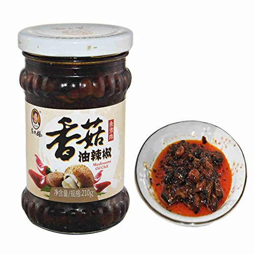 Lao Gan Ma Oil Chili Condiment with Mushroom