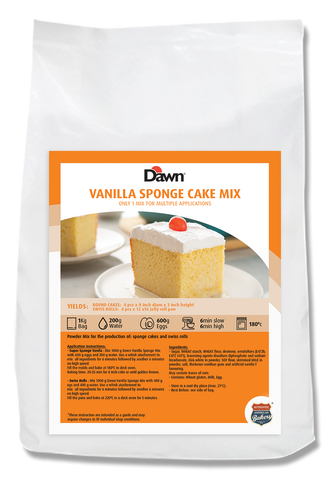 Vanilla Cream Cake Mix