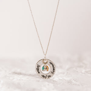 Mother/Grandmother Pride Necklace