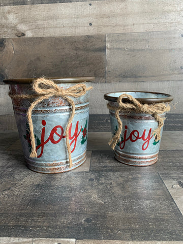 *SALE* Rustic Joy Pot