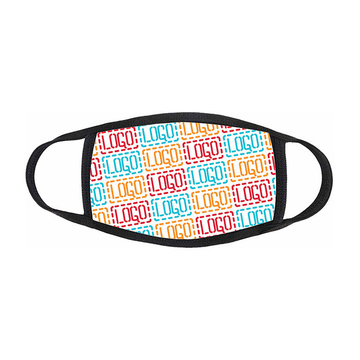 Youth Full Color Sublimated Face Masks - 2 ply