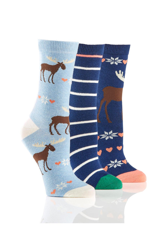 Ladies Moose Socks