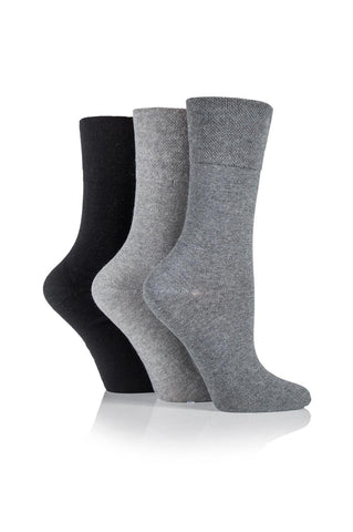 Ladies Grey/Charcoal/Black