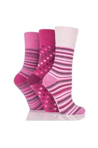 Ladies Pink Stripes