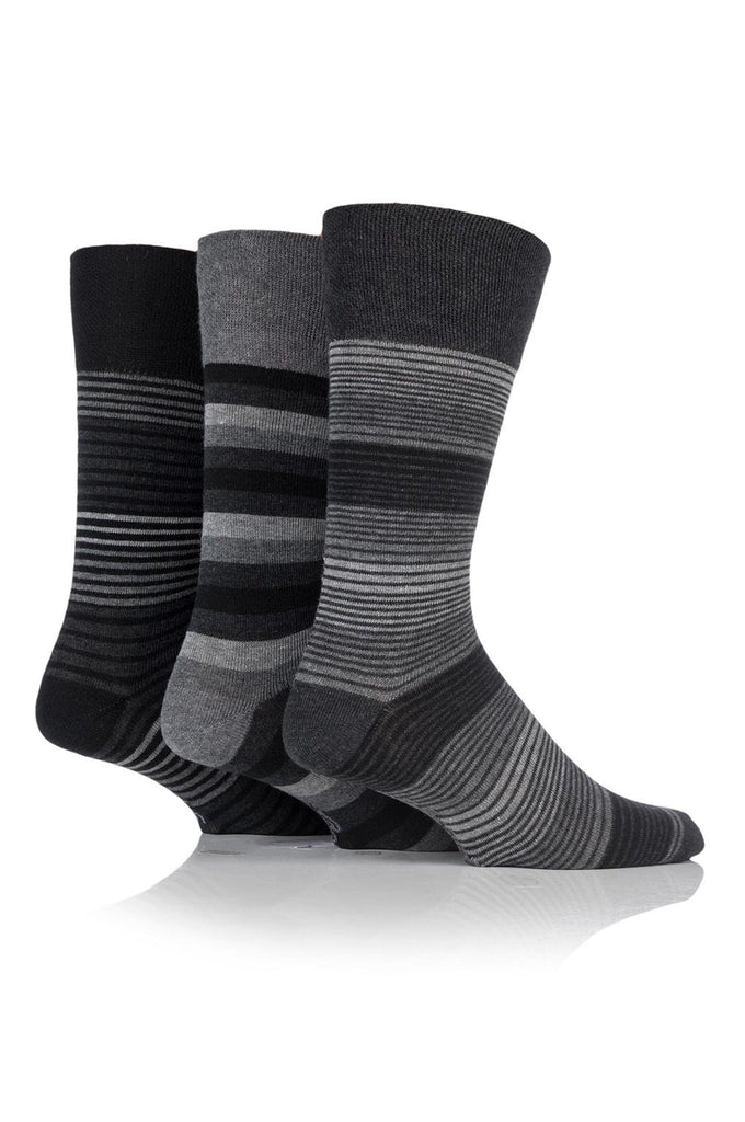 Men's Monochrome Stripe