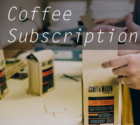 6 month - Coffee Subscription