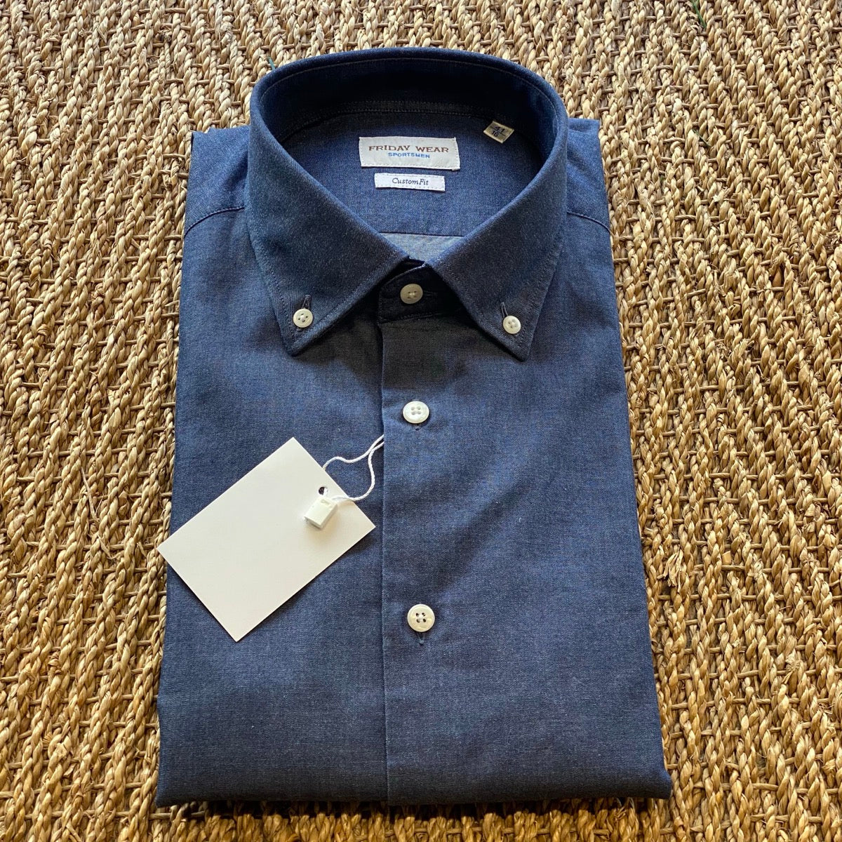 FridayWear - Button Down Blue
