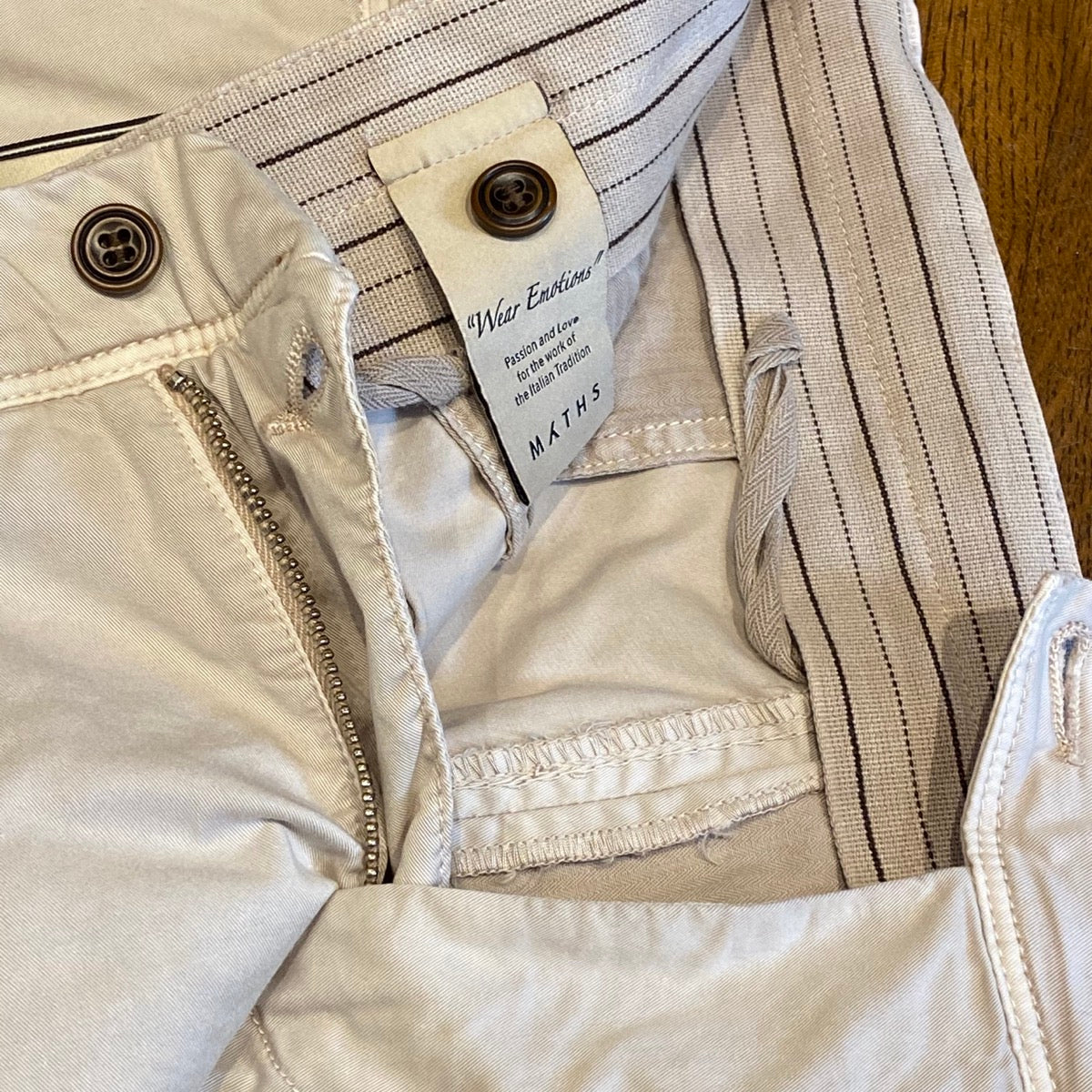 Myth's - Light Chino Blanc Cassé (col20)