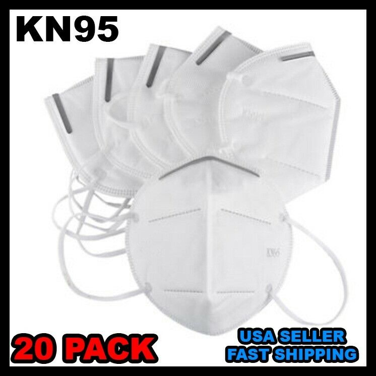 95-KN Mask Box with 20 pcs - Covers Mouth & Nose - Protects Face - FAST Shipping