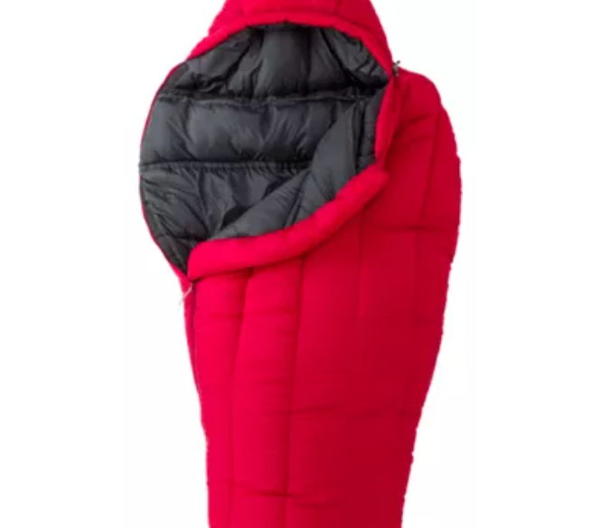 The Ascend Whammy -20º Mummy Sleeping Bag - Fits to 6'
