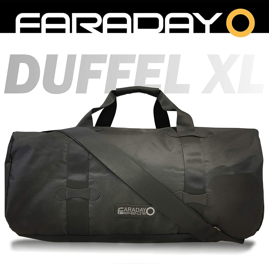 Faraday Defense EMP Duffel Bag XL Heavy Duty Black - Bug Out Molle Duffle Bag