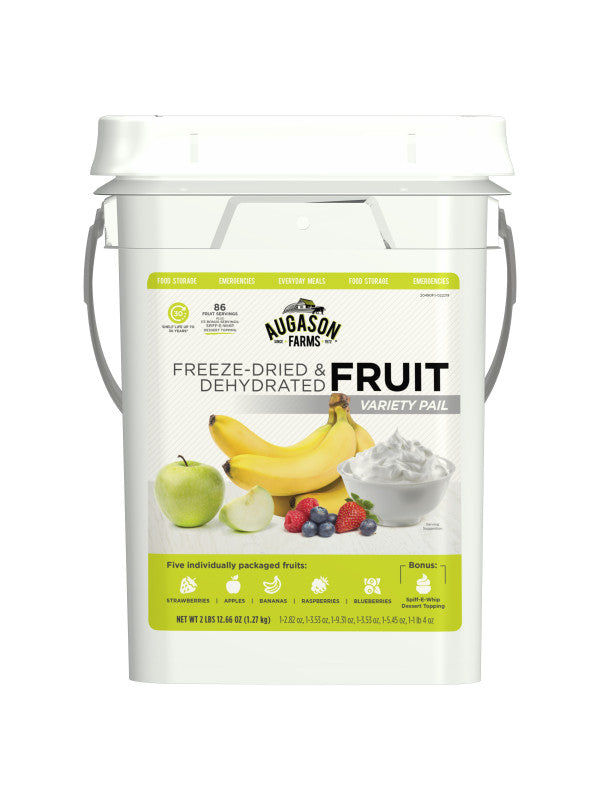 Freeze-Dried Fruit Variety 4 Gallon Pail