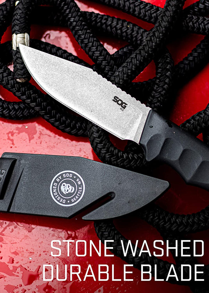 SOG Fixed Blade Knives with Sheath