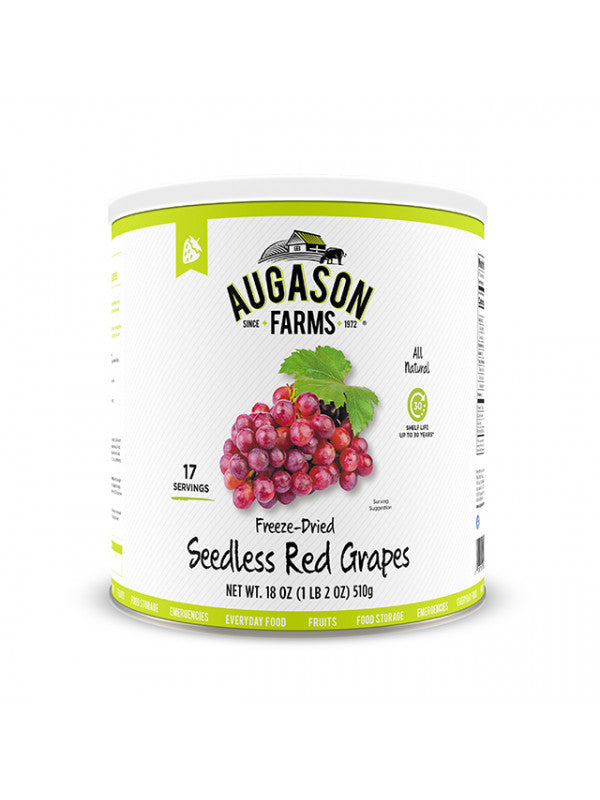 Freeze Dried Seedless Red Grapes