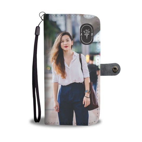 Turn Your Selfie Into An Amazing Monogrammed Smartphone Wallet Case - Smartphone Wallet Cases