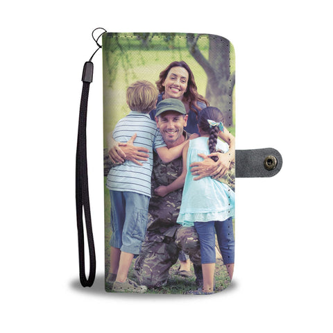 Turn Your Great Military Family Photo Into An Amazing One-Of-A-Kind Smartphone Wallet Case - Smartphone Wallet Cases