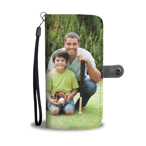 Turn Your Father-Son Photo Into An Amazing One-Of-A-Kind Smartphone Wallet Case - Smartphone Wallet Cases