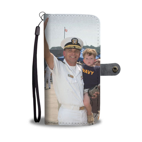 Turn Your Favorite Navy Photo Into An Amazing One-Of-A-Kind Smartphone Wallet Case - Smartphone Wallet Cases