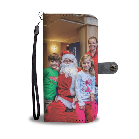 Turn Your Christmas Photo Into A Beautiful Custom Smartphone Wallet Case - Smartphone Wallet Cases