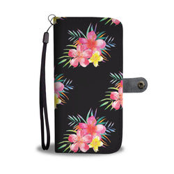 Small Bouquet Seamless Watercolor Smartphone Wallet Case - Smartphone Wallet Cases
