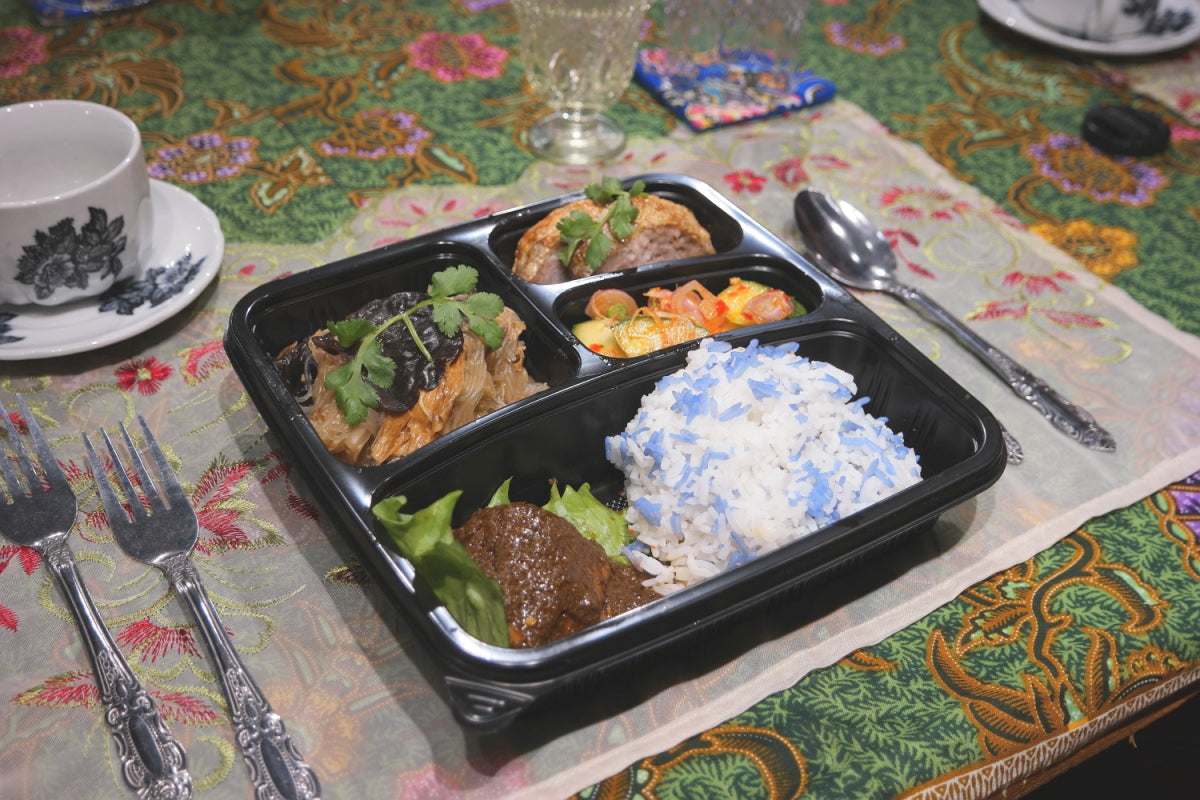 Feed frontliners with The Peranakan bentos from only $10!