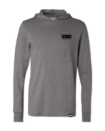 Men's WFH Logo L/S Soft Hoodie - WFHLIFE.com#color_heather-grey
