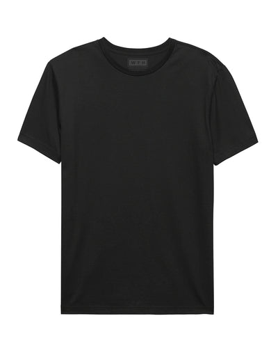 Men's WFHWear SUPIMA S/S Crew T - WFHLIFE.com#color_black