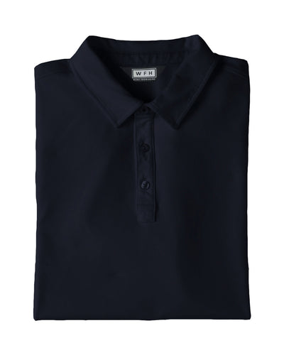 Men's WFHWear Zoom On S/S Flow Polo - WFHLIFE.com