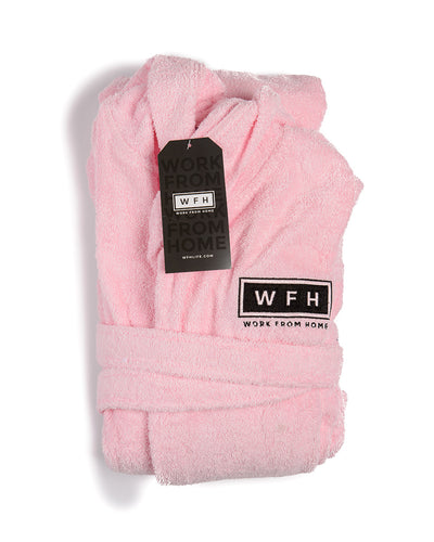 WFHWellness Luxurious Turkish Cotton Robe - WFHLIFE.com