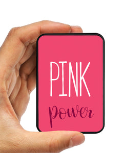 Pink Power Power Bank