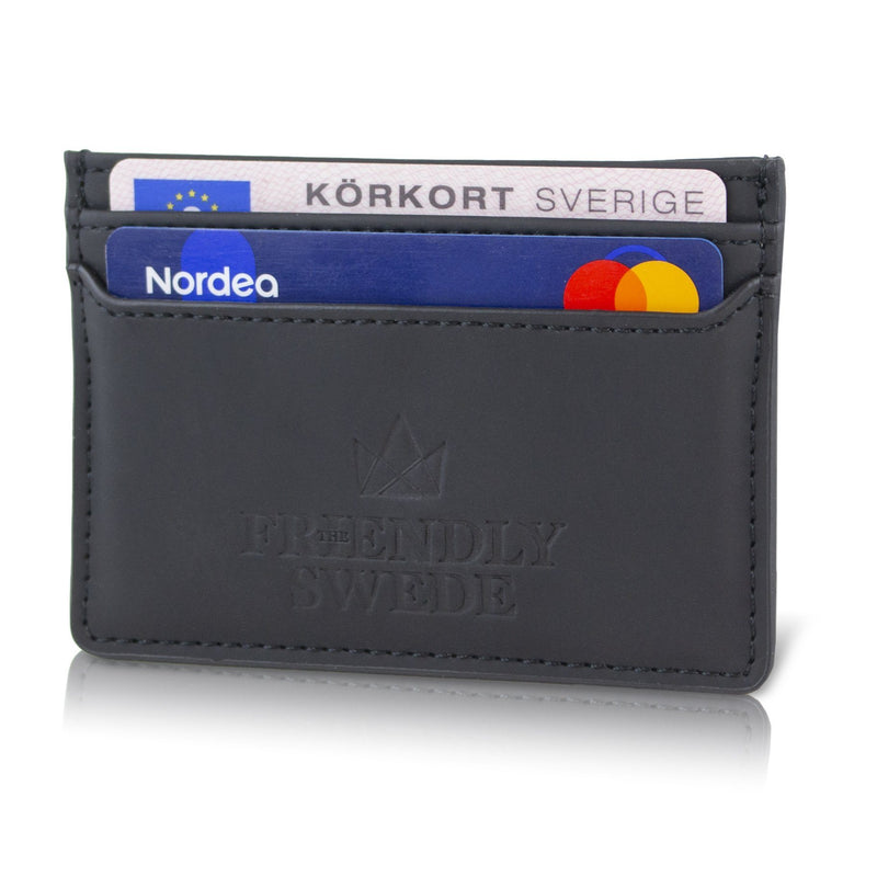 Vreta Card Holder The Friendly Swede Japan Black