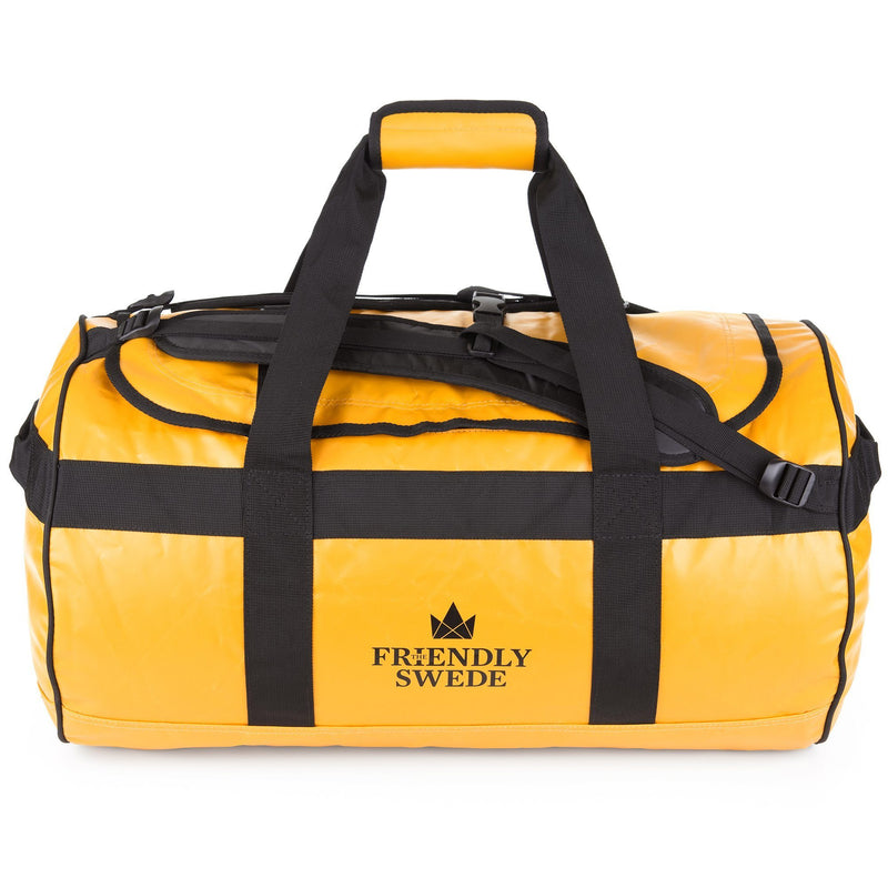 Sandhamn Duffel 60L The Friendly Swede Yellow