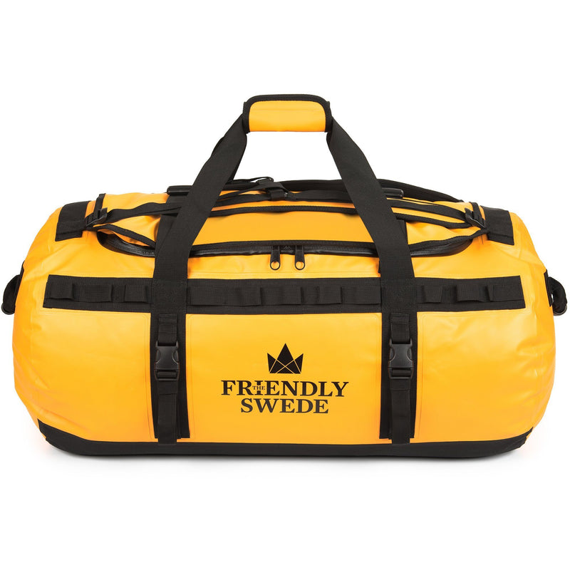 Sandhamn Duffel 90L The Friendly Swede Yellow