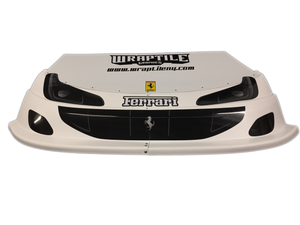 Ferrari Headlight/Grill Graphic Kit