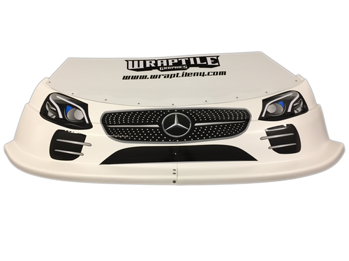 Mercedes Headlight/Grill Graphic Kit