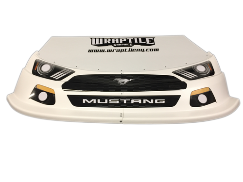 Mustang Headlight/Grill Graphic Kit