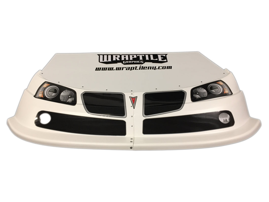 Race Car Headlight Decals Late Model