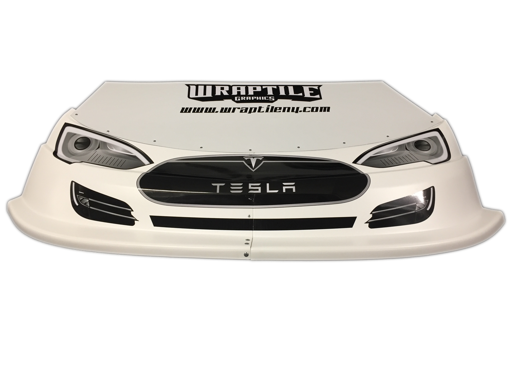 Tesla Headlight/Grill Graphic Kit