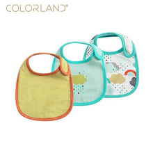 Load image into Gallery viewer, Baby Bib (Colorland, 3 Pcs) Unisex