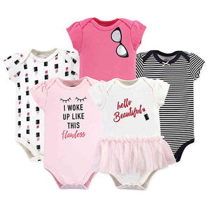 Baby body suits/ Baby Dress (5pcs) - Kyemen Baby Online