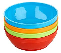 Nuk Cereal Bowls with Lids 4pc