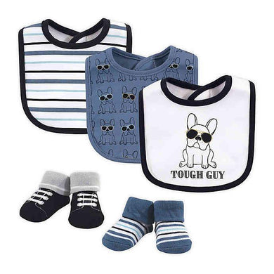 BABY BIB ( 3 PIECES WITH SOCKS )tough guy - Kyemen Baby Online