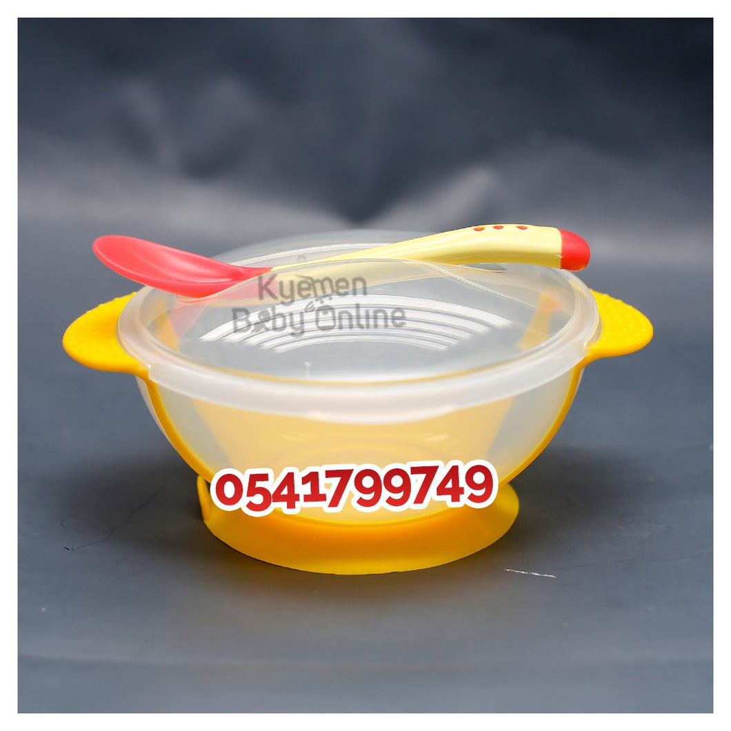 Cereal Bowl (Weaning Bowl with Spoon)