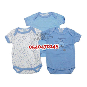 Baby Boy body suits/ Baby Dress (3pcs) Dream Big