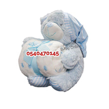 Load image into Gallery viewer, Baby Blanket With Teddy Bear (Fleece)