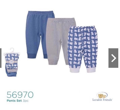 Pants/ Leggings/ Trousers (Blue Elephant)