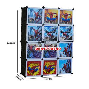 Drawer (Fabric/Cubed Drawer) Spiderman