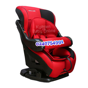 Car Seat (HB901) Royal Baby (Red and Black)