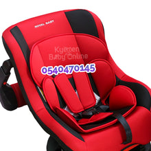 Load image into Gallery viewer, Car Seat (HB901) Royal Baby (Red and Black)