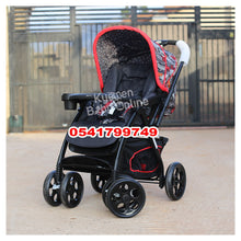 Load image into Gallery viewer, Stroller, Car Seat & Diaper Bag Set (3 in 1)- 4 Wheels